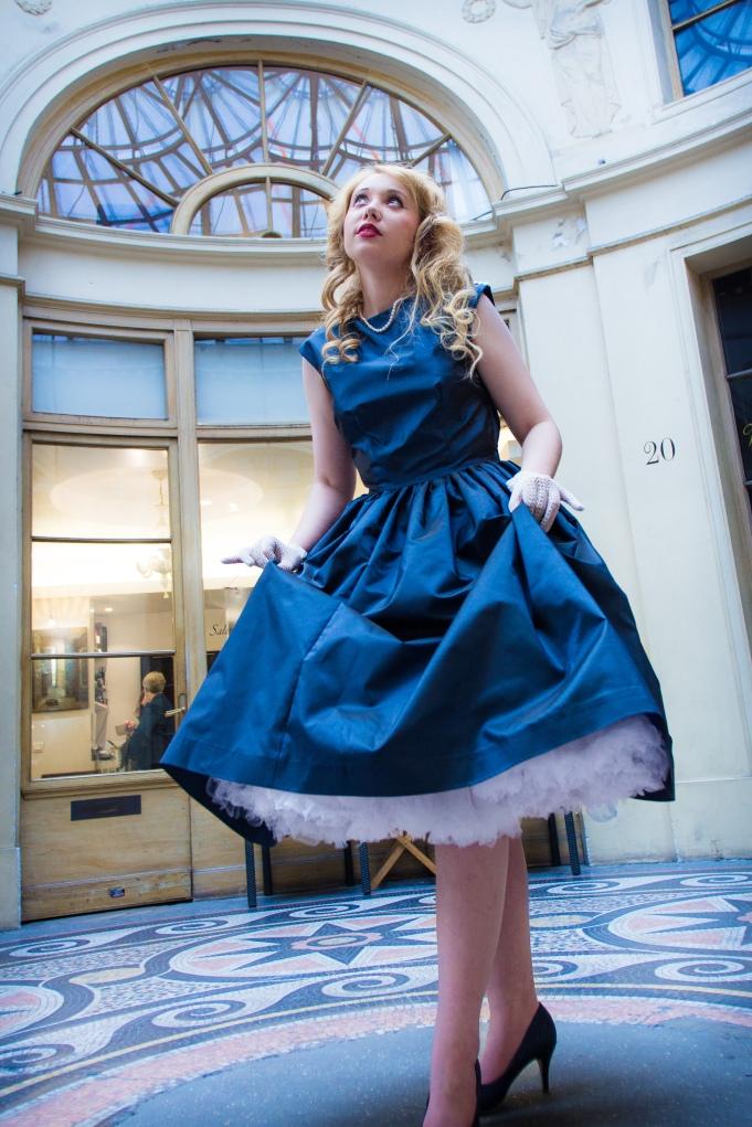 Robe bleue (2)