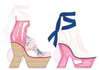 14 chaussure angle